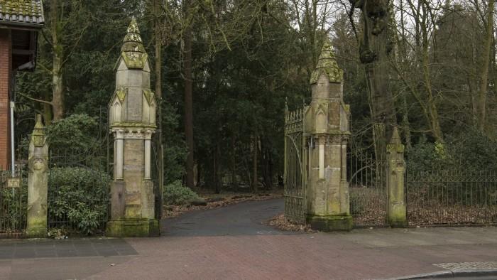 Eingang Wätjens Park