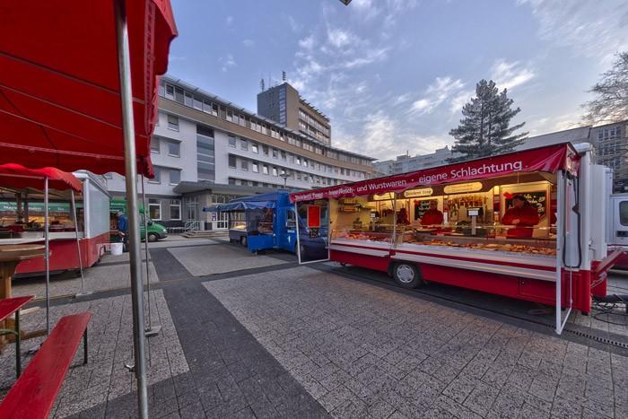 Wochenmarkt Hameln Lange